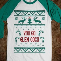 You Go Glen Coco Ugly Sweater Baseball Jersey