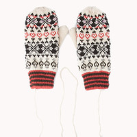 Cozy Tribal Print Mittens