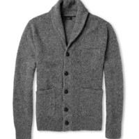 J.Crew Flecked Wool-Blend Cardigan | MR PORTER