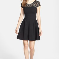 FELICITY & COCO Flare Ponte Dress (Nordstrom Exclusive)