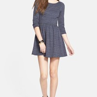 BP. Geometric Jacquard Skater Dress (Juniors) | Nordstrom