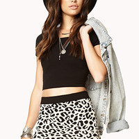 Lovely Leopard Bodycon Skirt