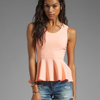 Finders Keepers Always on the Run Top in Sherbert