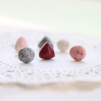 Pebble Earring Set
