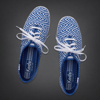 Hollister + Keds Champion Chevron Print Sneakers