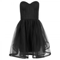 Landi boned tulle dress