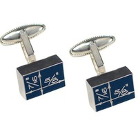 Blueprint Cufflinks by Acme Studio - Pop! Gift Boutique