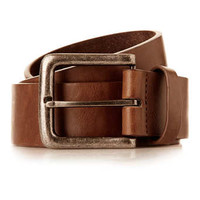 BROWN WIDE JEANS BELT - Latest Trend - Clothing
