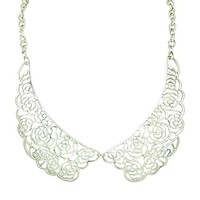 Studio S Women's Filigree Necklace