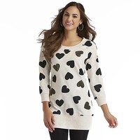 Joe by Joe Boxer Women's Missy Sweater - Hearts