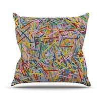 KESS InHouse More Sprinkles Throw Pillow