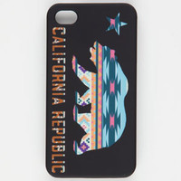 Tribal Cali Bear iPhone 4/4S Case