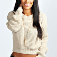 Ellie Crop Fisherman Jumper