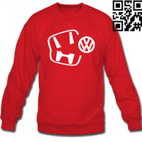 CARS HONDA EATING VOLKSWAGEN SWEATSHIRT CREW NECK