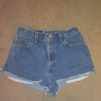 Levi's High Waisted Shorts Made to Fit You