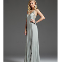 Mignon 2013 Fall Dresses - Dew Beaded Jersey Illusion Low Back Prom Dress