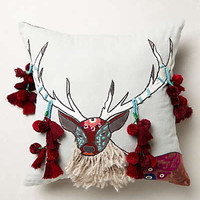 Boreal Forest Applique Pillow
