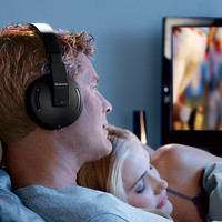 2.4GHz Wireless TV Headphones at Brookstone—Buy Now!