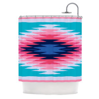 KESS InHouse Surf Lovin II Polyester Shower Curtain