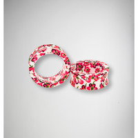 00 Gauge Pink Flower Tunnel Set