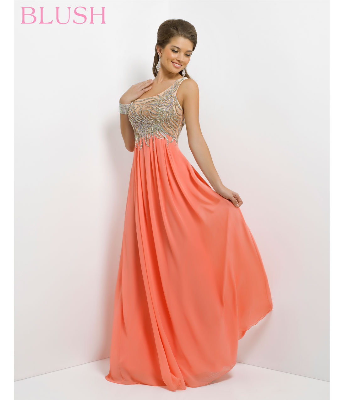 PRE ORDER Blush 2014 Prom Dresses from Unique Vintage