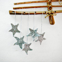 PDF Pattern Crochet Star Christmas Ornament Home Decoration Christmas Gifts
