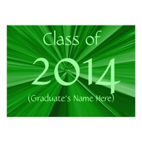 2014 Graduation Announcement