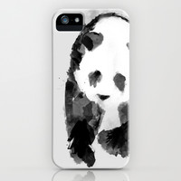 Panda iPhone & iPod Case by Diana Hope