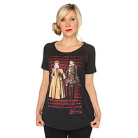 Portrait Scoop-neck Ladies' Tee