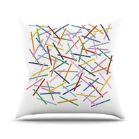 "Kess InHouse Sprinkles Throw Pillow - Size: 26"" H x 26"" W"