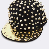 Gold Spike Snap Back