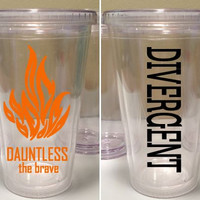 Divergent Dauntless 16 oz. Tumbler - Dauntless Faction