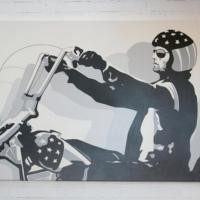 www.roomservicestore.com - Easy Rider Original Artwork # 1