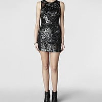 Womens Cicily Dress (Black) | ALLSAINTS.com