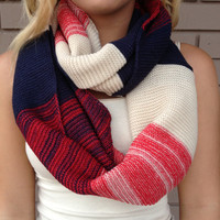 All American Knit Infinity Scarf