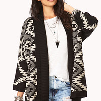 World Traveler Open-Front Cardigan