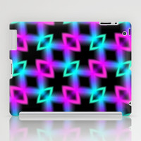 Neon Glow Light iPad Case by Alice Gosling