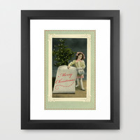 To My Angel Framed Art Print by Vikki Salmela