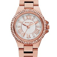Michael Kors 'Mini Camille' Pavé Bezel Bracelet Watch, 26mm | Nordstrom