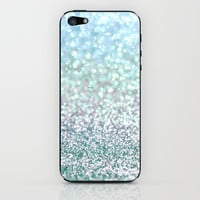 Blue Mist Snowfall iPhone & iPod Skin by Lisa Argyropoulos