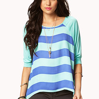 Striped Raglan Top