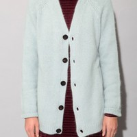 Ice blue angora cardigan [Gan3866] - $208.00 : Pixie Market, Fashion-Super-Market