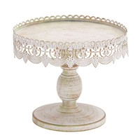 Woodland Imports Decorative Cake Stand