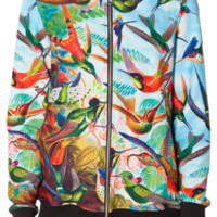 Birds In Paradise BF Bomber (CAPPED PRE SALE) | Black Milk Clothing