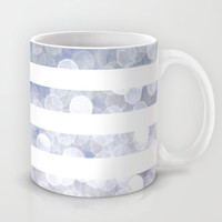 NAUTICAL BOKEH IN PURPLE Mug by colorstudio