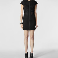 Womens Cole Dress (Black) | ALLSAINTS.com
