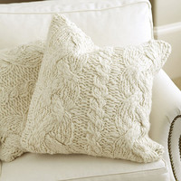 Wiltern Knit Pillow | Ballard Designs