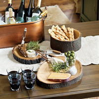 Wood Serving Bowl | Ballard Designs