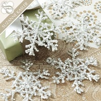 Suzanne Kasler Set of 5 Snowflake Tie Ornaments | Ballard Designs