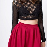 Peekaboo Crop Top